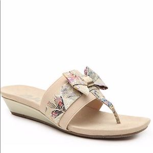 NIB- 🌟HP🌟ANNE KLEIN SPORT SANDALS🌸
